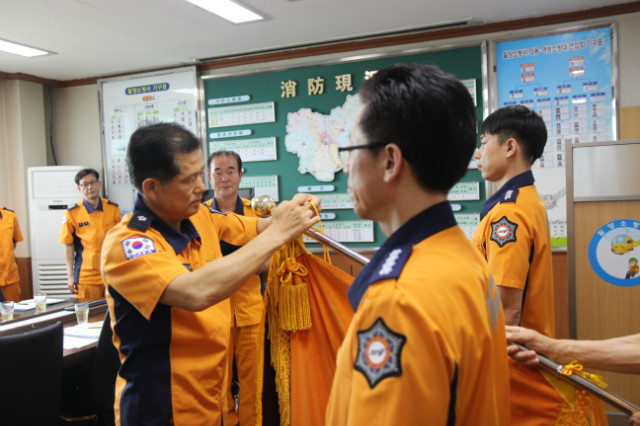 소방본부장님  최우수관서 격려방문.JPG